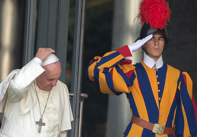 Who is opposing Pope Francis' financial investigation?