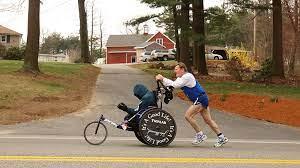 Inspiring Man Who Pushed Wheelchair Bound Son in Marathons Dies