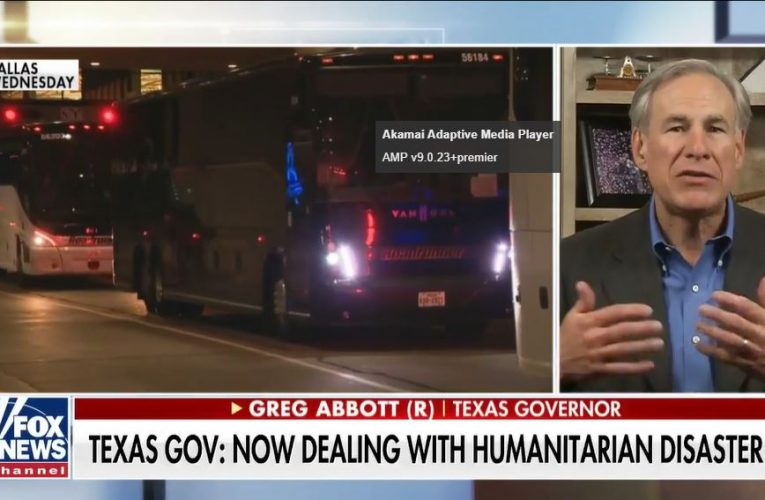 Texas Gov. Abbott reports COVID outbreak, no 'usable running water' at migrant holding facility