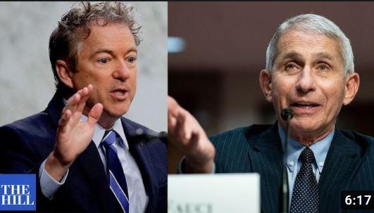 Sen. Rand Paul Calls Out Fauci