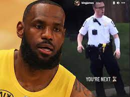 LeBron James accused of inciting violence with 'YOU'RE NEXT' tweet targeting Columbus police officer