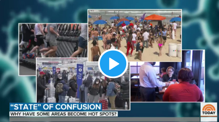Vid: NBC Scrambles to Explain Why Lockdown States Are Doing Worse!