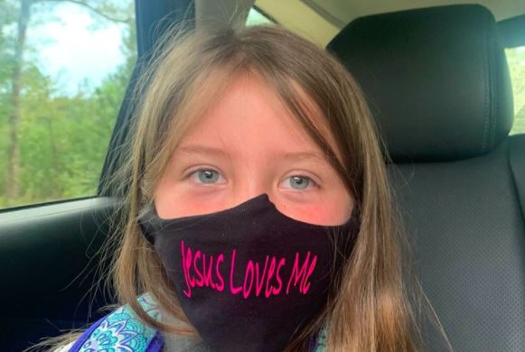 """Girl Banned From Wearing """"Jesus Loves Me"""" Mask. BLM Allowed, Of Course."""