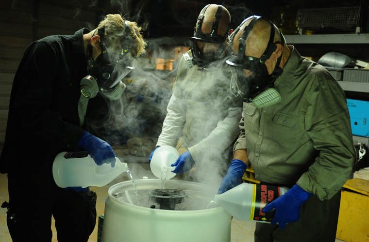 Breaking Bad — Wisconsin Bill allows dead bodies to be dissolved with lye, poured into the sewer.