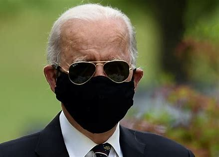 So it's Not  About Following the Science? Biden will ignore CDC guidance and keep wearing a mask outdoors: 'It's a patriotic responsibility for God's sake'