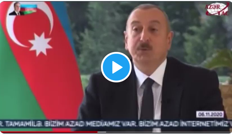 Vid of the Day — President of Azerbaijan Torches BBC Journo for Freedom Preening