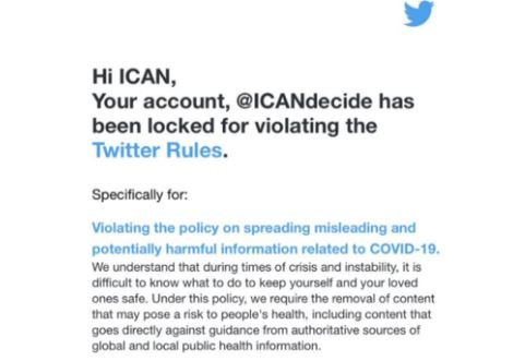 Twitter Suspends Group That FOIA'd Fauci Emails When They Say They Have More