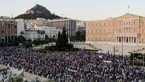 Whoa! Check Out the Protests Against Forced Vaccines in Greece.