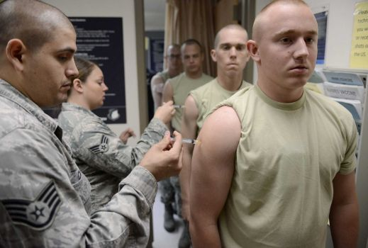 More than half of Army reservists have not received even a single Covid vaccine dose