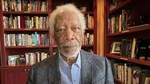 Morgan Freeman rebukes 'defund the police' movement to journalist who supports 'AbolishThePolice'