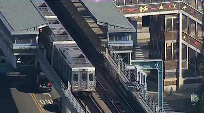Riders watched as a woman was raped on a Philly train but no one called 911, police say.